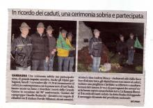 """Clicca per vedere l'articolo del """"Corriere di Novara""""."""