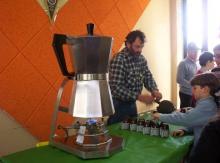 Caffettiera gigante